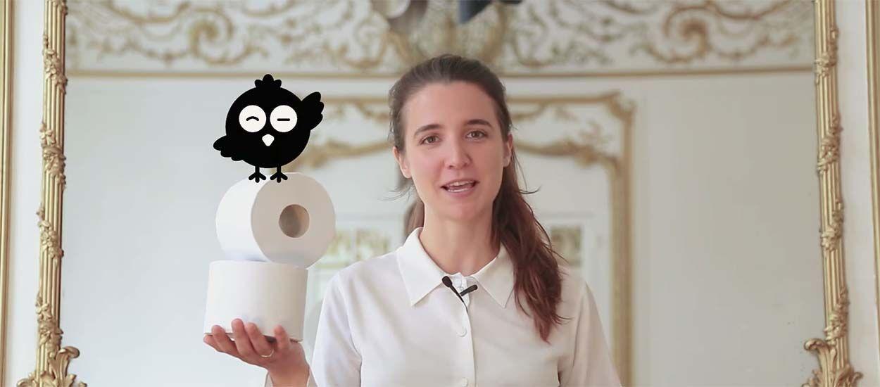 Elle lance un papier toilette 100 % écolo made in Normandie