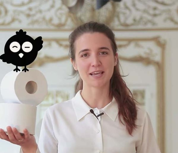 Elle lance un papier toilette 100 % écolo made in Normandie