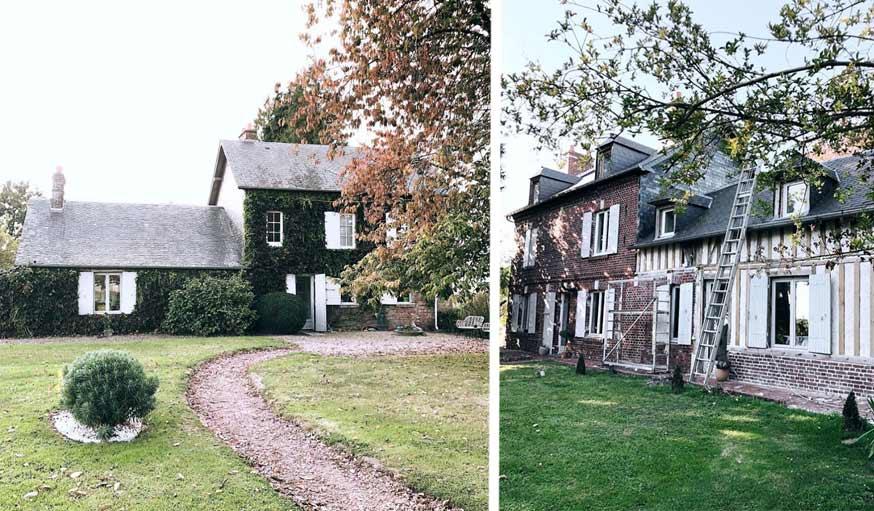 Maison rénovée en Normandie