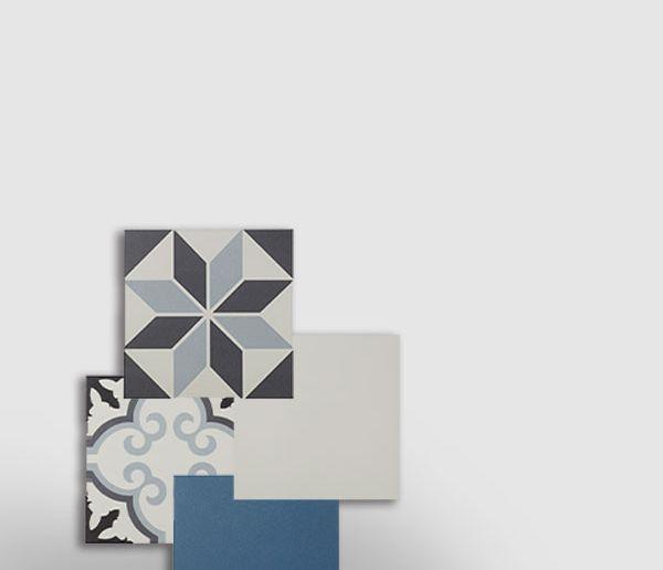 HYDROLIC, carreaux unis et motifs à mixer