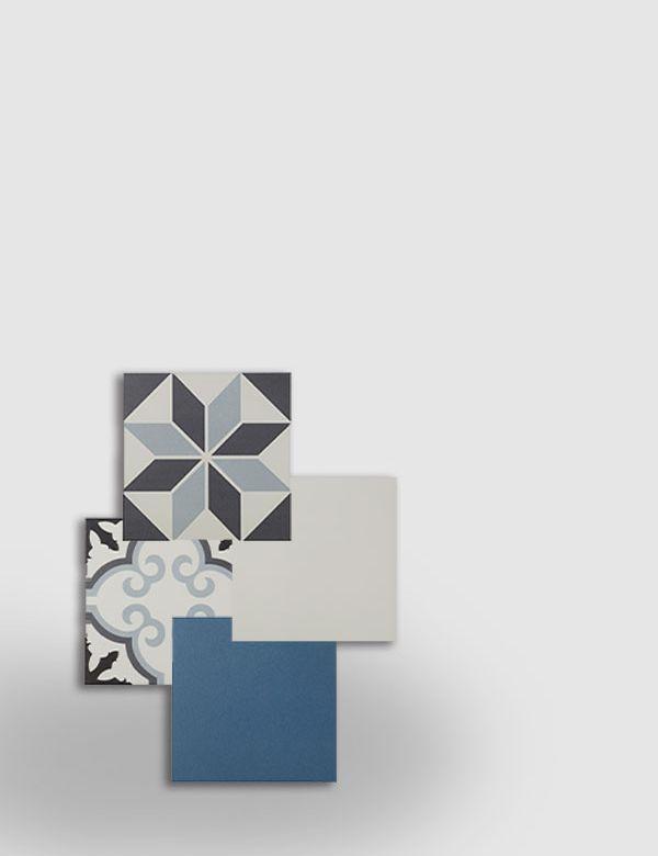 <b>HYDROLIC,</b> carreaux unis et motifs à mixer
