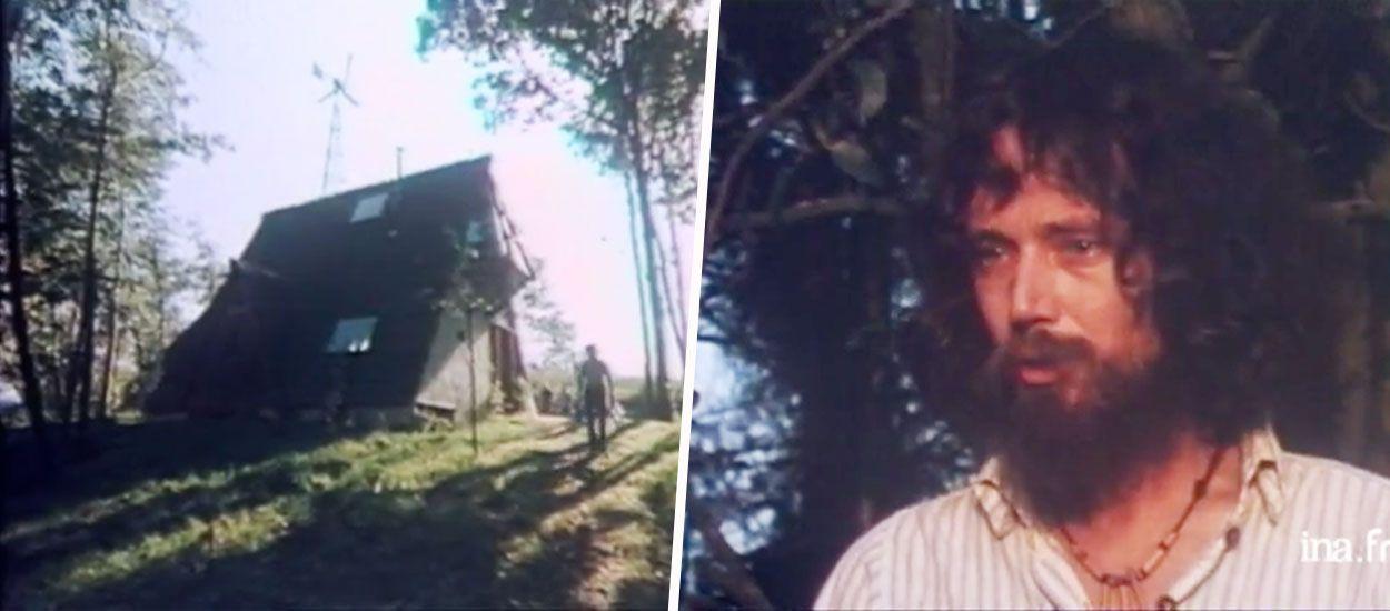 En 1978, cet architecte visionnaire avait déjà construit une maison entièrement autonome et écologique