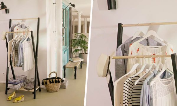 Tuto : Fabriquez un double portant à vêtements pour 30 euros seulement