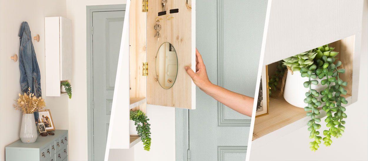 Tuto : Fabriquez un cache compteur électrique qui sert aussi d'armoire à clés