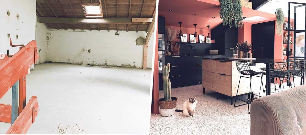 Avant / Après : Ils ont entièrement rénové cette ancienne usine pour moins de 700 euros le m²