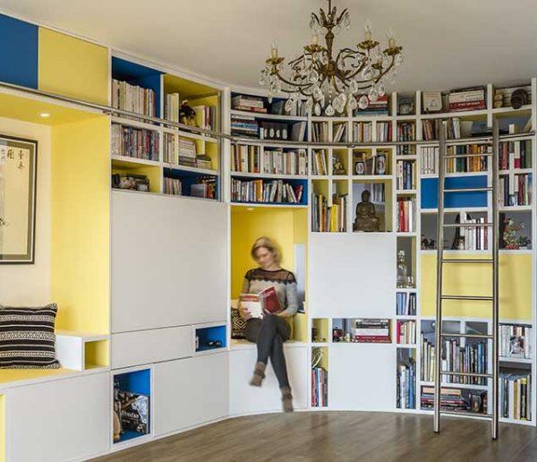 6 idées à piquer à cette incroyable bibliothèque sur mesure