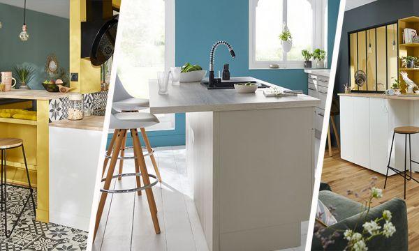 8 inspirations pour installer un comptoir de bar dans votre cuisine