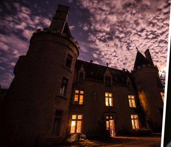 """""""Sincèrement, c'est difficile de s'habituer"""" : Ils sont propriétaires d'un château hanté"""