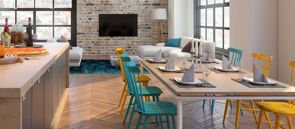 5 exemples pour dépareiller correctement vos chaises de salle à manger !