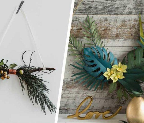 10 jolies idées DIY pour remplacer un sapin de Noël