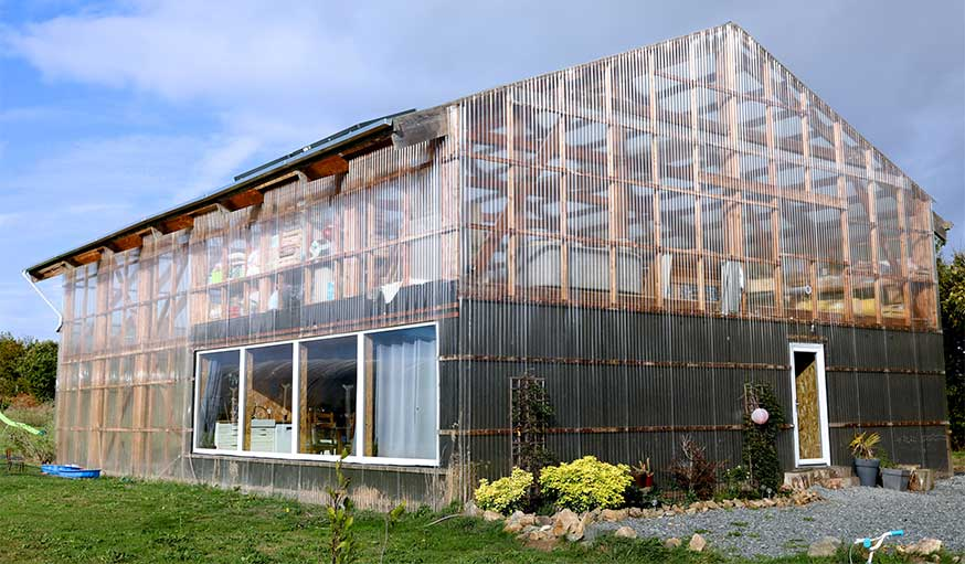 Maison hangar à Hillion extérieur