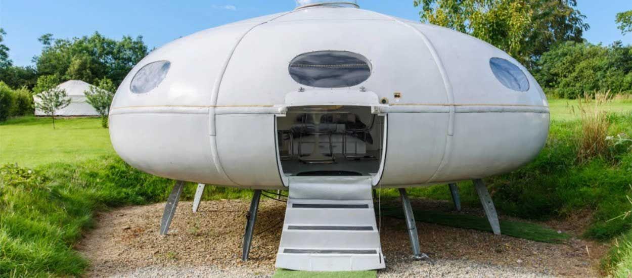 5 maisons dignes de vaisseaux spatiaux pour observer les étoiles