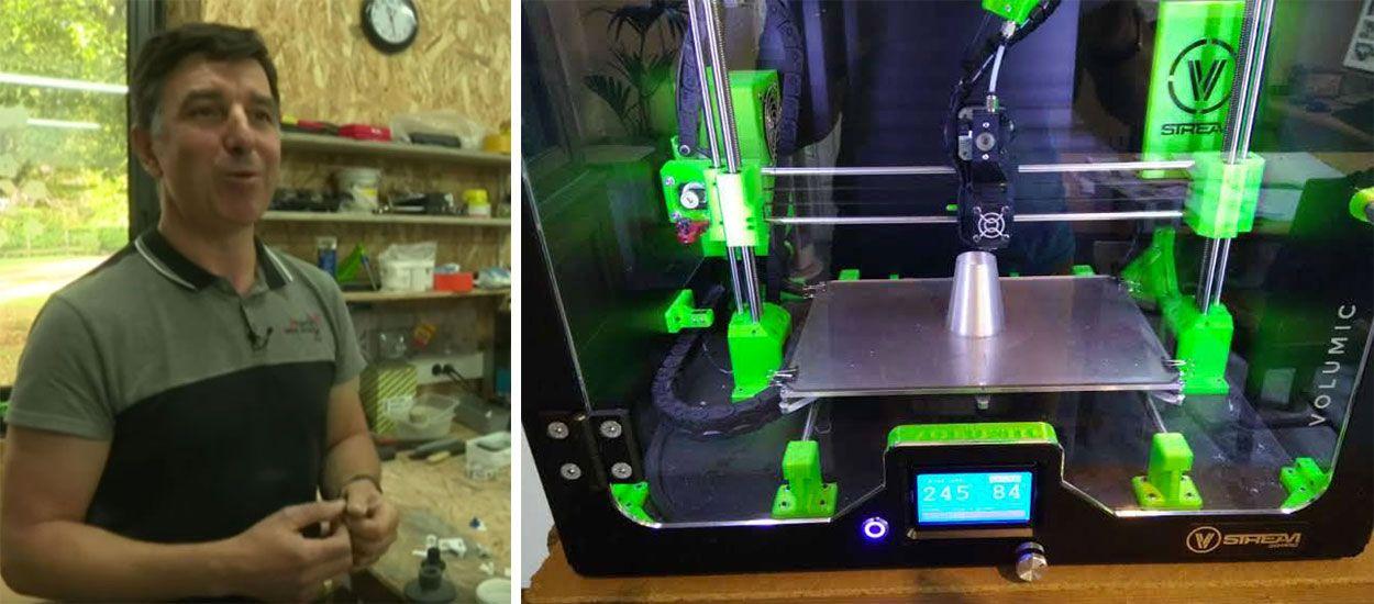 Ne jetez plus vos objets cassés, cet ingénieur les répare avec son imprimante 3D
