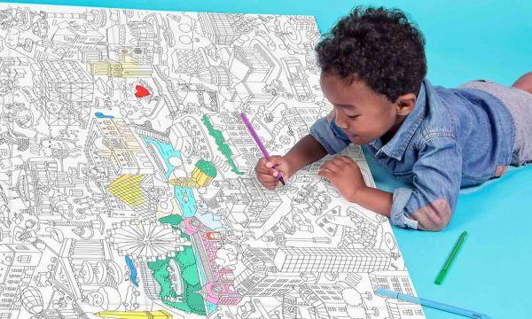 3 idées originales pour tapisser les murs d'une chambre d'enfant
