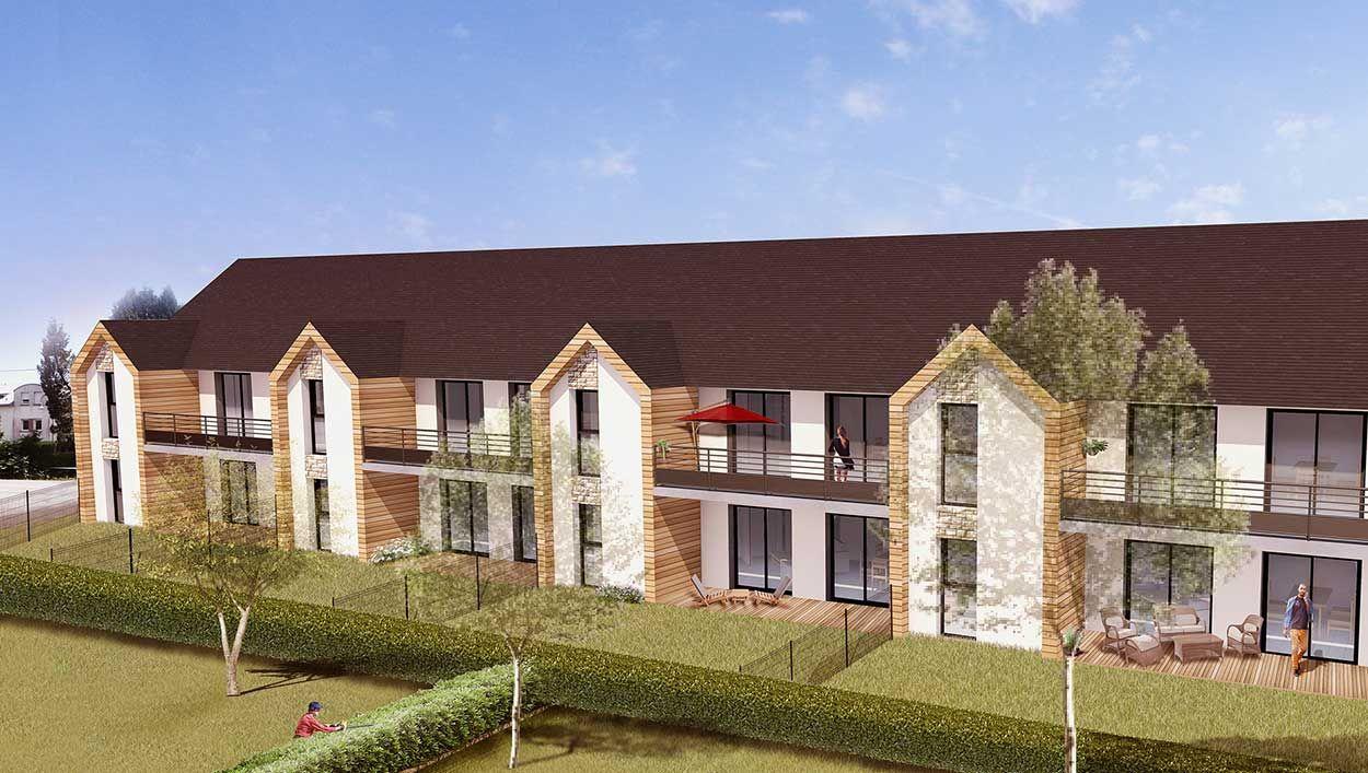 Cette petite ville bretonne accueillera bientôt un immeuble autonome en énergie et en eau chaude