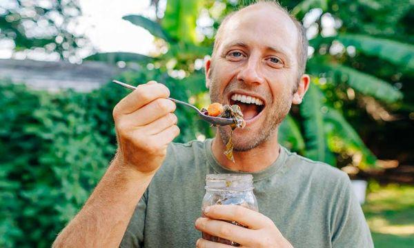 Il est parvenu à être autosuffisant en nourriture à 100% pendant un an !