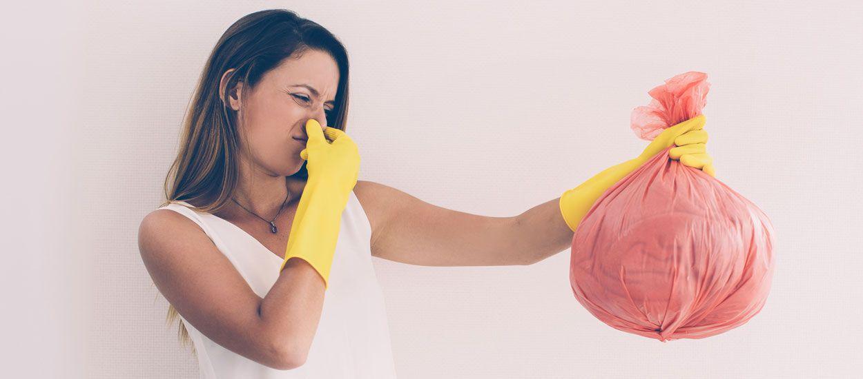5 astuces écolos pour éviter les mauvaises odeurs de la poubelle