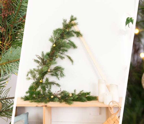 Tuto : Fabriquez un sapin de Noël alternatif et minimaliste !