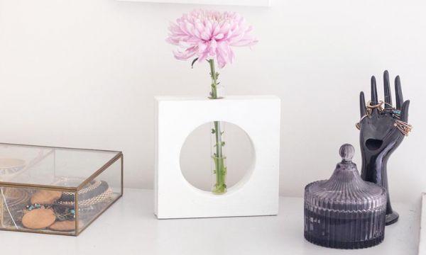 Tuto : Fabriquez un joli soliflore pour moins de 5 euros !