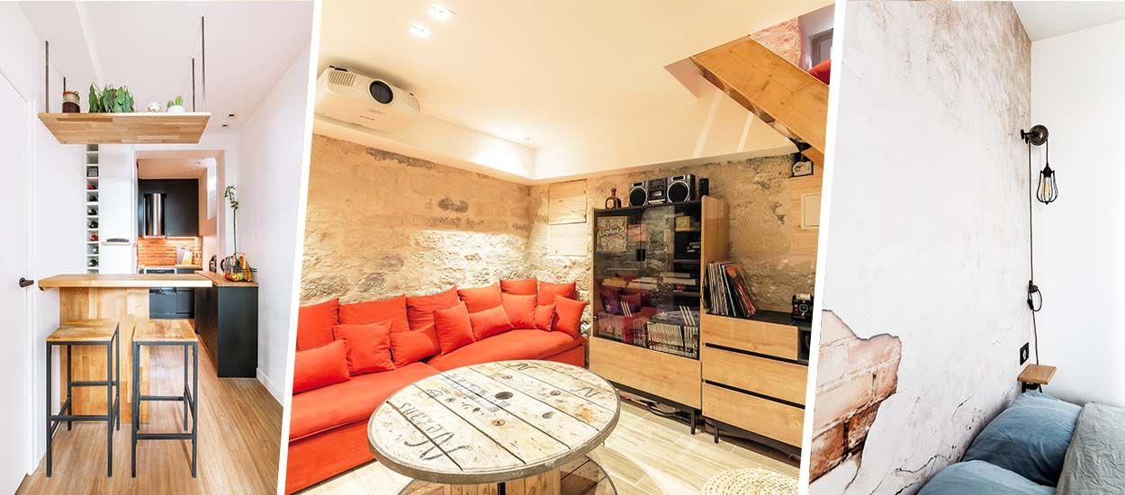 Avant / Après : un souplex transformé en appart cosy option salle de ciné