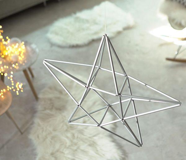 Tuto : Réalisez une étoile en Himmeli, cette déco de Noël venue du froid