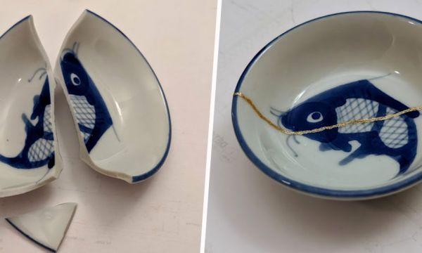 Découvrez le kintsugi : l'art japonais de réparer la porcelaine avec de la poudre d'or