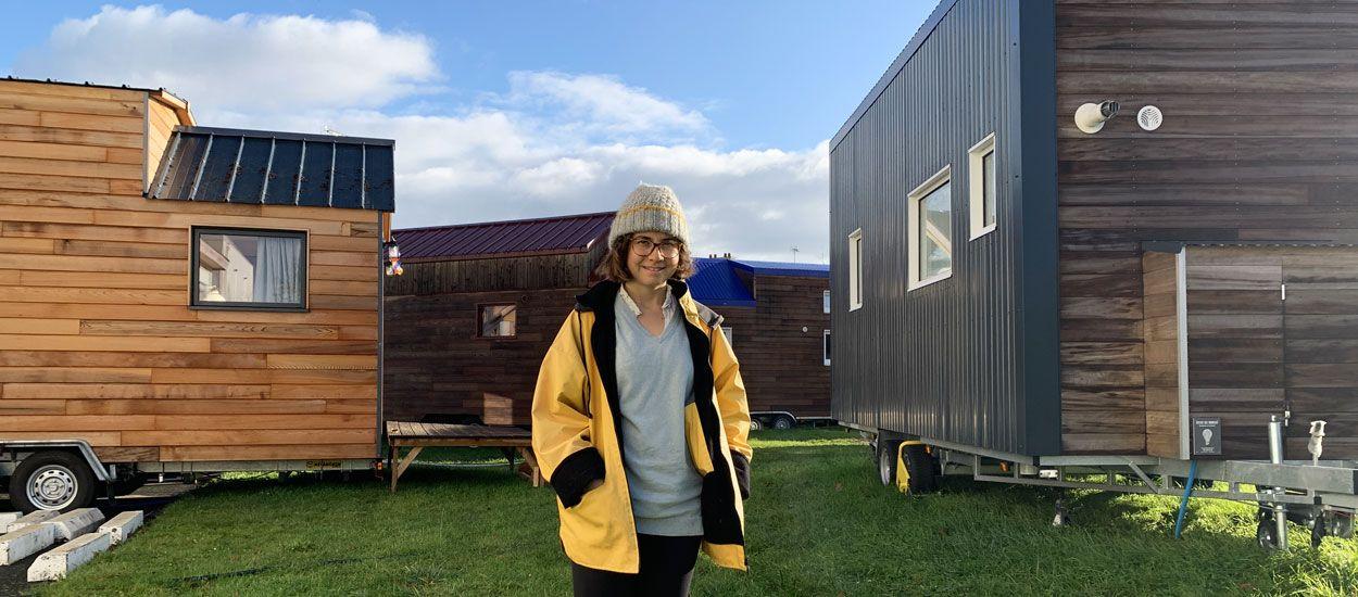 À 25 ans, Aurélie a créé le premier village de tiny houses en France