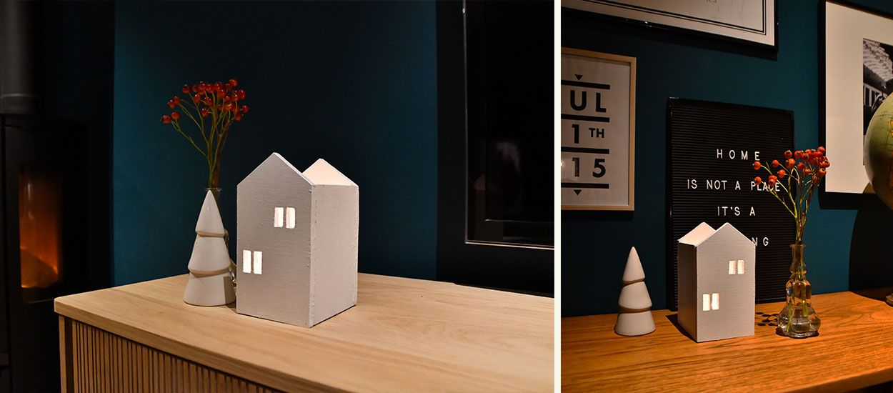 Tuto : Fabriquez un photophore en maisonnette pour décorer votre intérieur