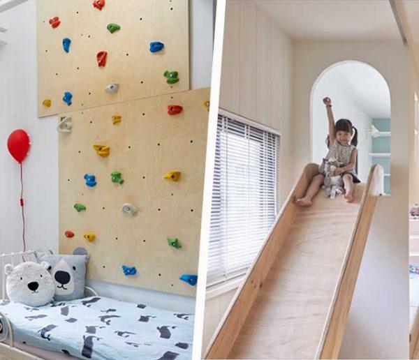 Best-of enfant : les meilleurs aménagements pour transformer votre maison en terrain de jeu géant !