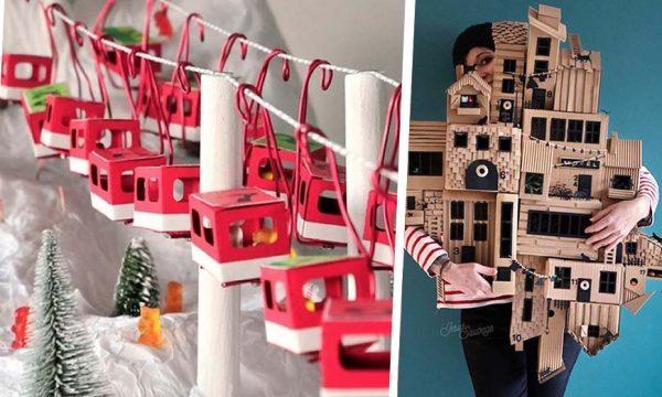 9 calendriers de l'Avent DIY qui font rêver par leur ingéniosité