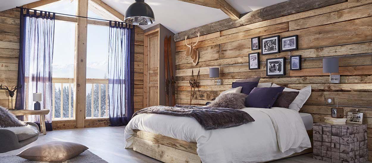 8 chambres d'inspiration chalet pour un hiver cocooning