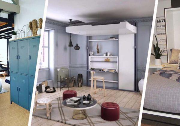 6 Lits Gain De Place Pour Une Chambre D Adulte Ou Un Studio