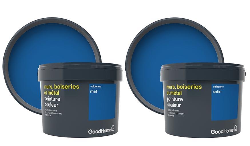 Peinture Good Home : comment adopter le bleu classique ...