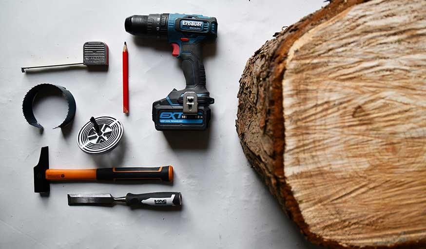 support de sapin outils