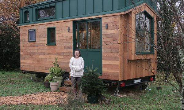 Témoignage : ça fait quoi de vivre dans une tiny-house en hiver... et à 2 ?!