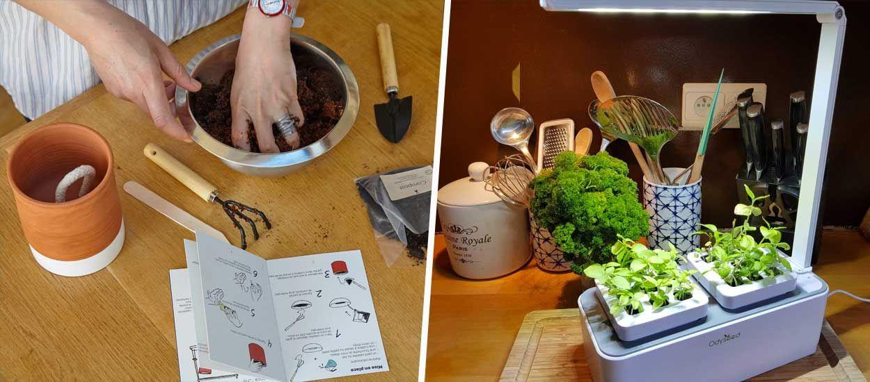 Test : les nouveaux potagers d'intérieurs vont-ils nous changer la vie ?