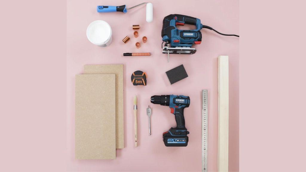 tutoriel bougeoir de Noël en forme de maisonnette outils
