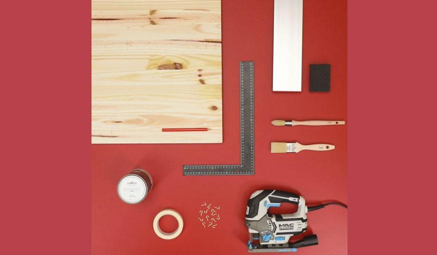 tutoriel sapin en bois matériaux