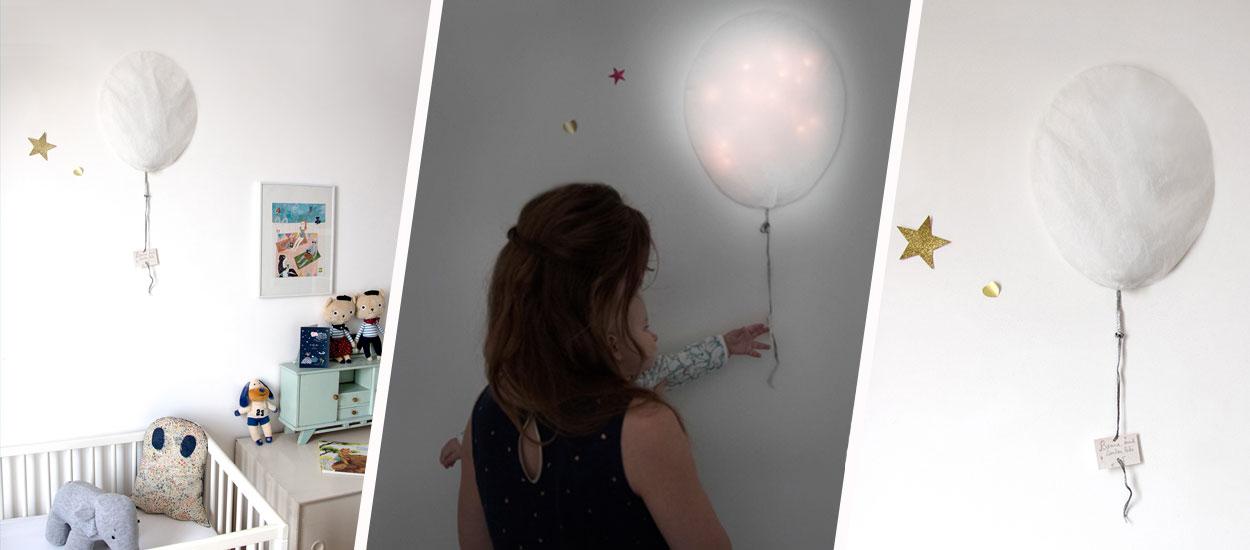 Tuto : Créez  une veilleuse de rêves pour la chambre de bébé