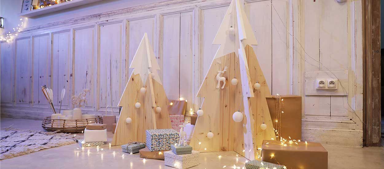 Tuto : Fabriquez un sapin de Noël en bois pour moins de 20 euros