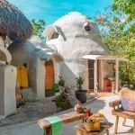 Superadobe éco-dôme autoconstruction écolo Mexique