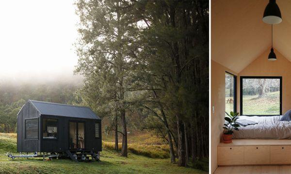 Instant évasion : cette tiny house minimaliste va vous donner envie de vivre en pleine nature