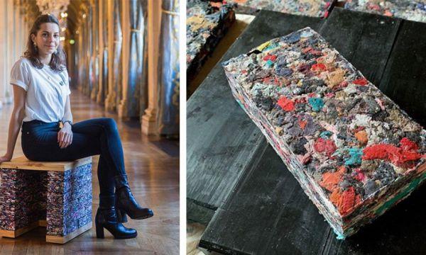 Cette architecte recycle vos vieux vêtements en briques isolantes et écolos
