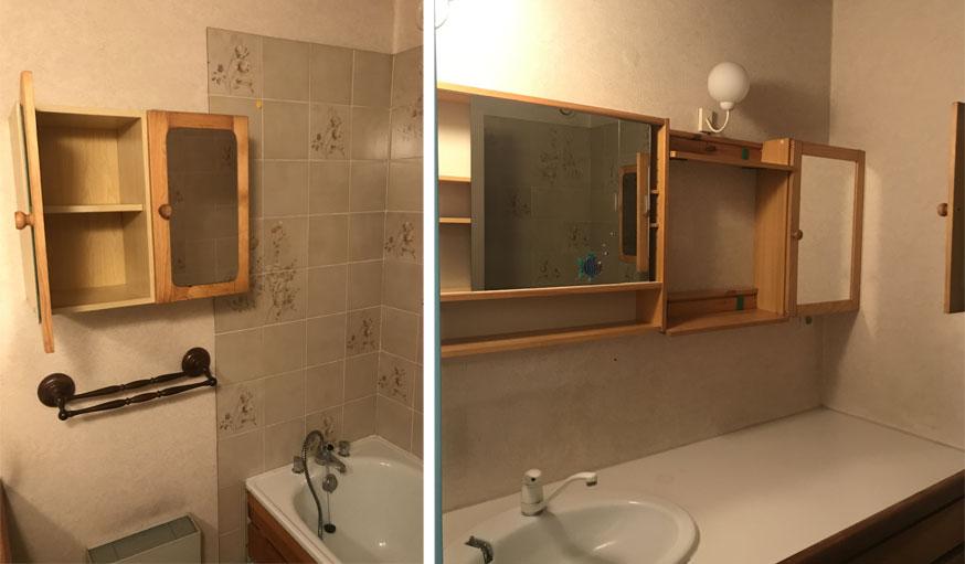 salle de bains vieillotte