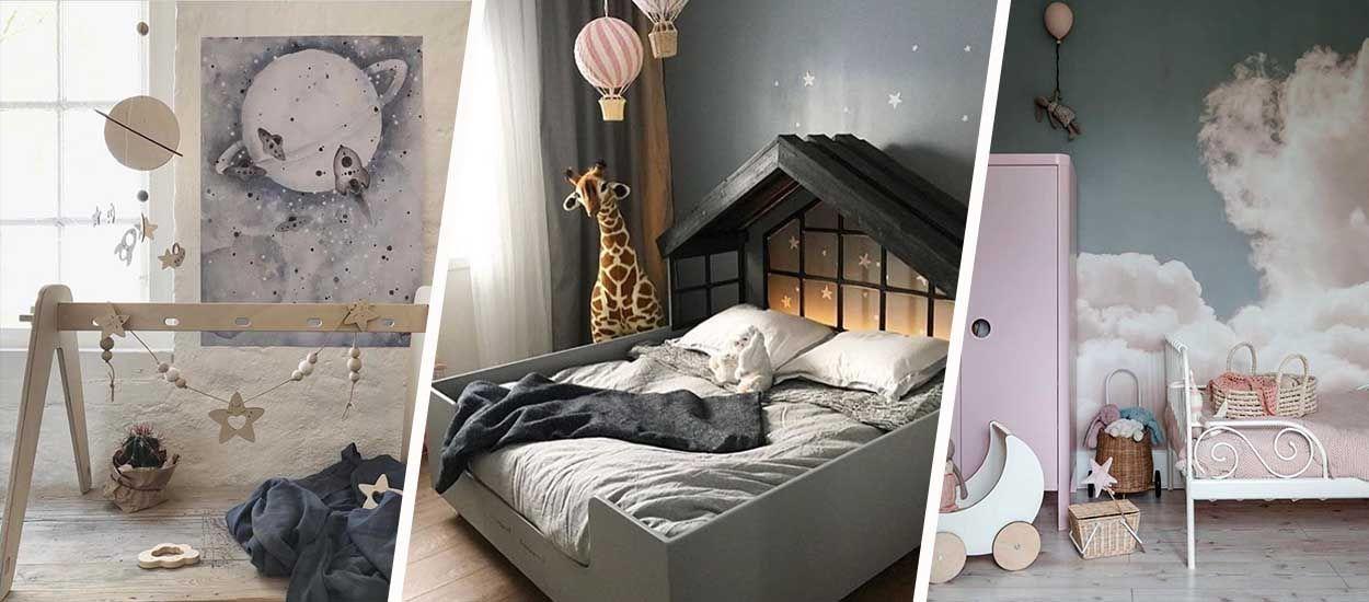 6 chambres de rêve pour les enfants qui ont la tête dans les nuages