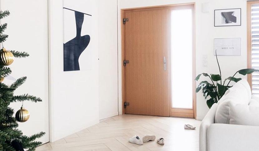 entrée minimaliste
