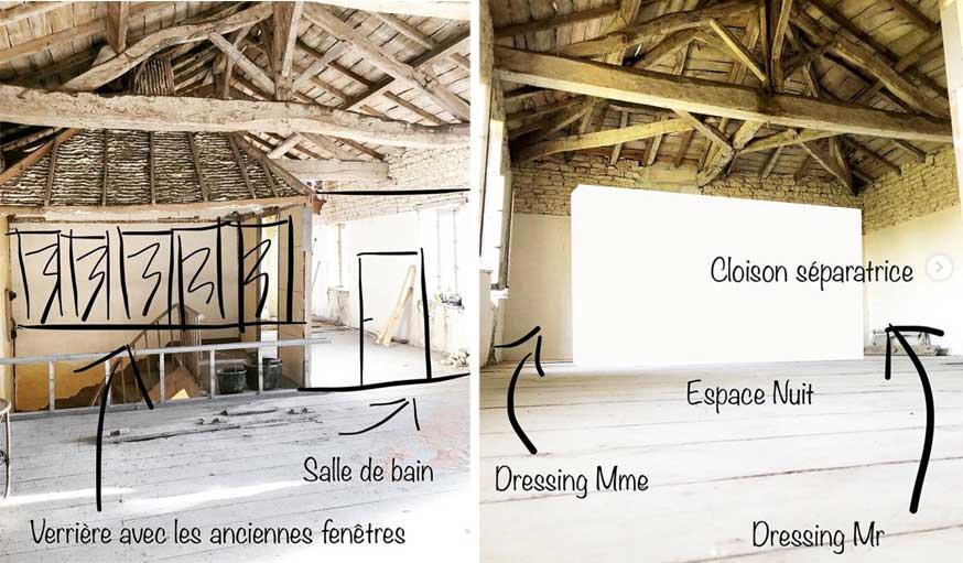 domaine viticole future chambre parentale