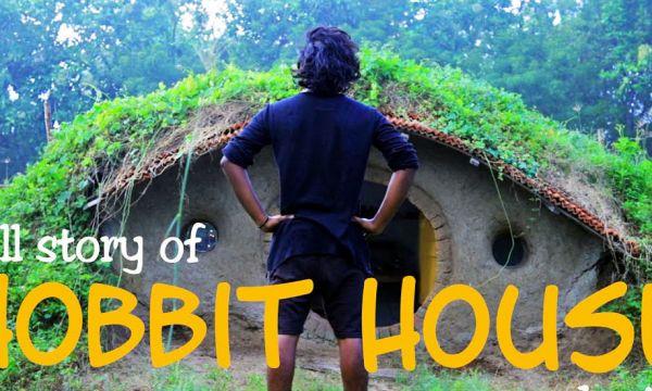Il a filmé chaque étape de la construction de sa maison de Hobbit
