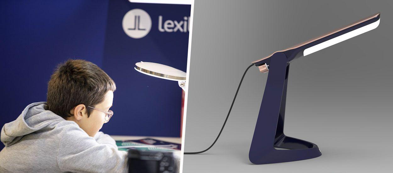 Cette lampe made in France permet aux dyslexiques de lire plus facilement