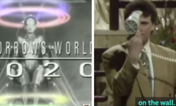 En 1989, la BBC imaginait la maison de 2020... et voyait plutôt juste !
